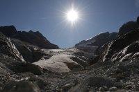entrainement sur glacier