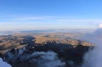le sommet et le lac titicaca