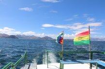 en route pour la Isla del Sol