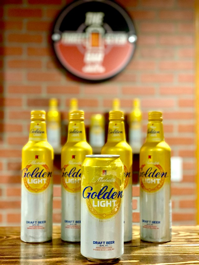#1 summer drink is obviously michelob golden light