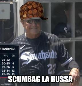 Baseball doesn't love Scumbags. Here is Tony LaRussa being one.