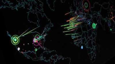 siber saldiri haritasi