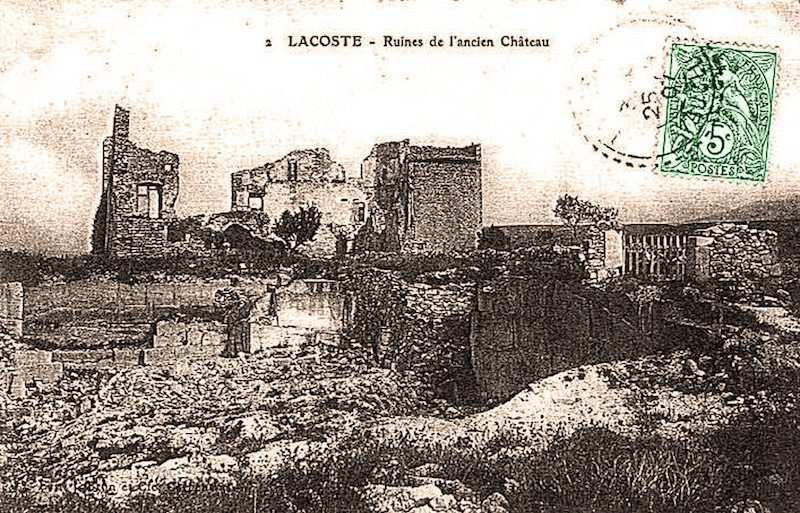 Lacoste Kalesi, Marquis de Sade