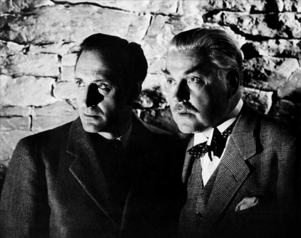 Basil Rathbone, Nigel Bruce, Sherlock Holmes