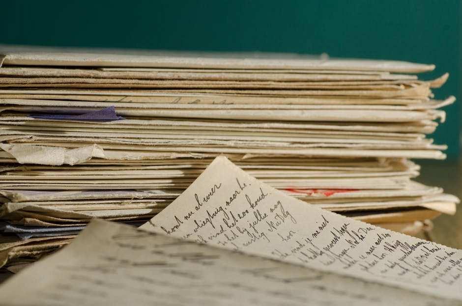 kağıt el yazısı