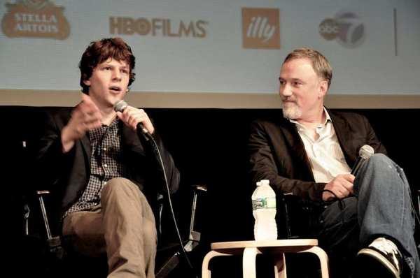 Jesse Eisenberg ve David Fincher