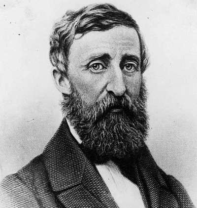 Henry David Thoreau çizim