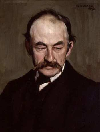 thomas hardy painting by william strang
