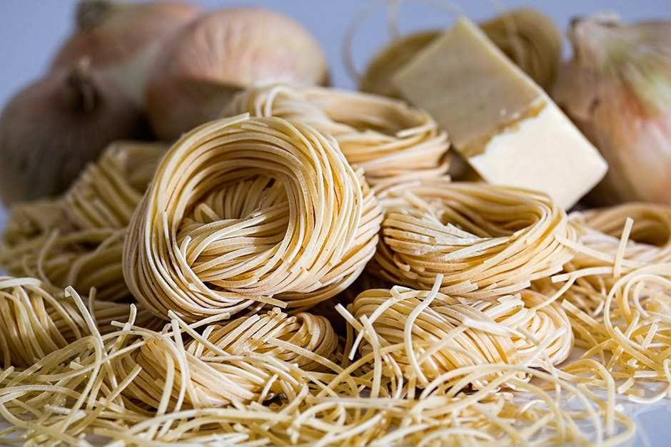 spagetti, noodle, kurutulmuş makarna