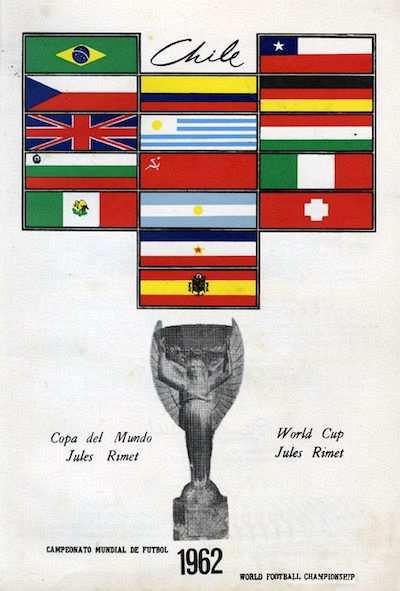 FIFA Dünya Kupası, 1962 Takımlar ve Jules Rimet Kupası