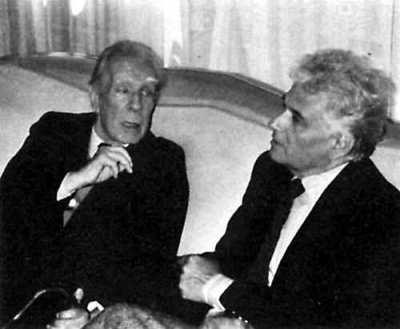 J. L. Borges & Jaques Derrida