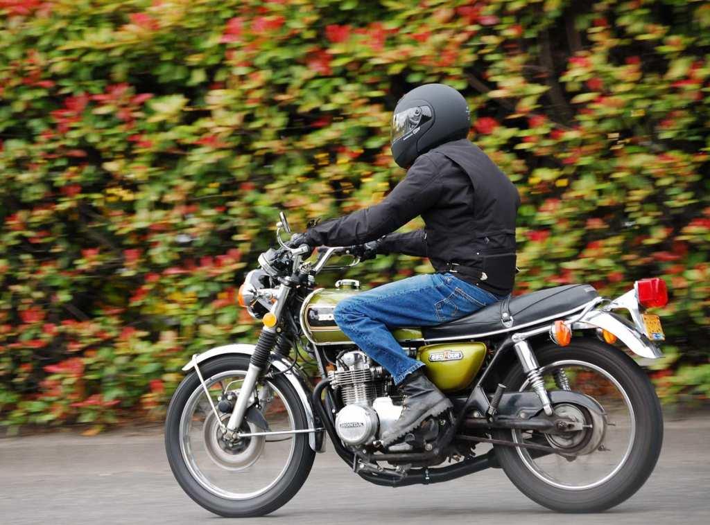 commuter motorbike
