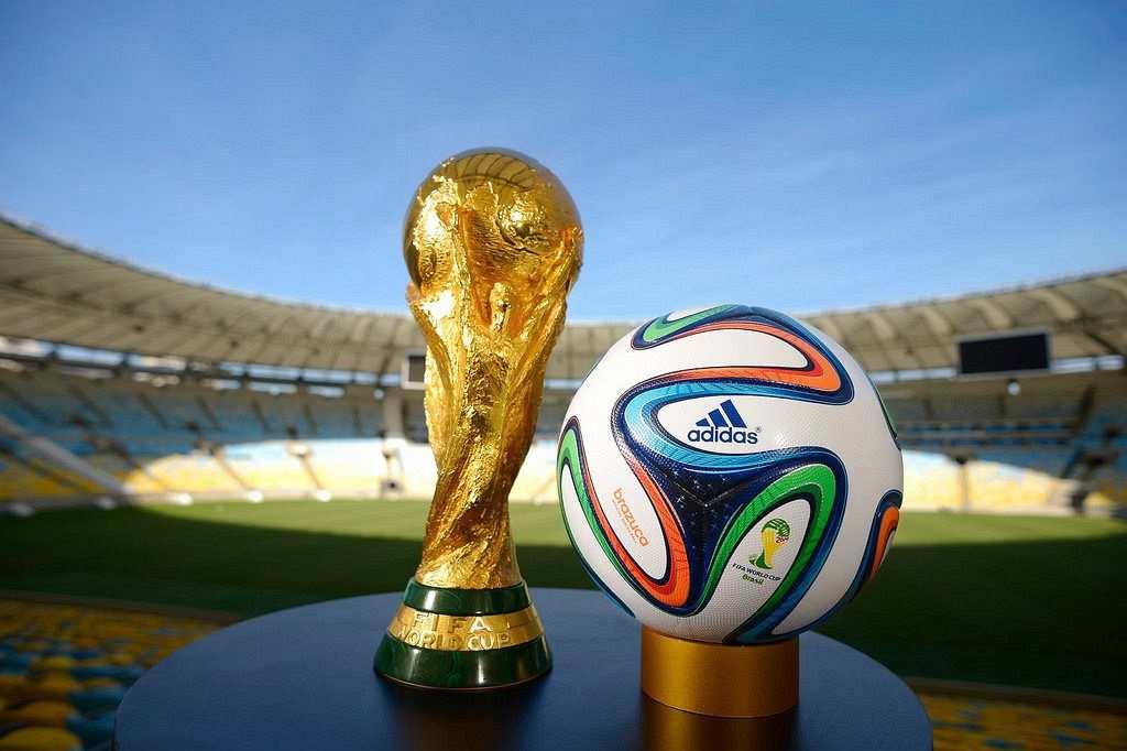 fifa dünya kupası kupa ve top