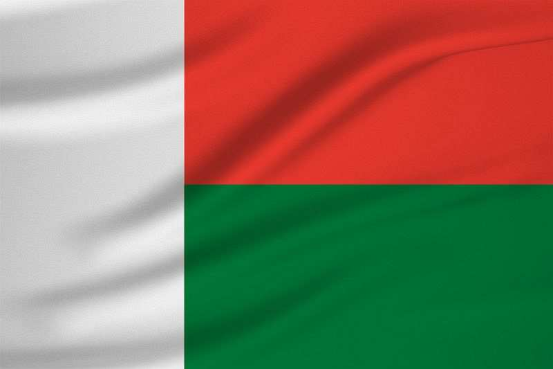 Madagaskar Bayrağı
