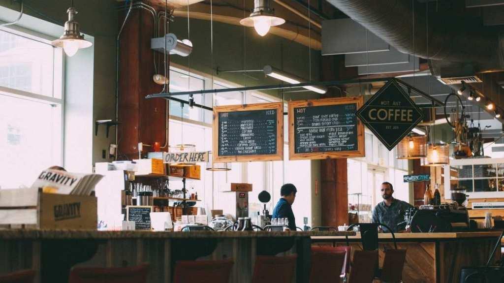 kahve mağazası