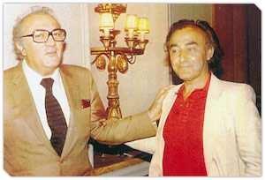 Federico Fellini ve Costanzo Costantini