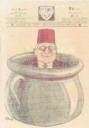 cevat şakir karikatürü