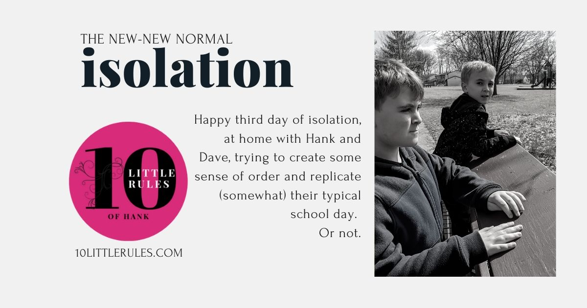 Isolation – The New-New Normal