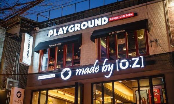 Playground Rooftop Cafe & Bar   Mapo-gu, Seoul