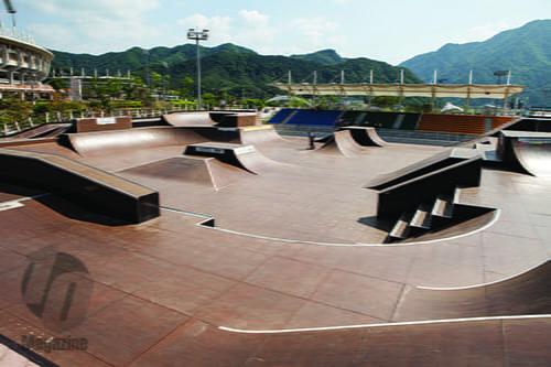 Gangwon skateboarding park