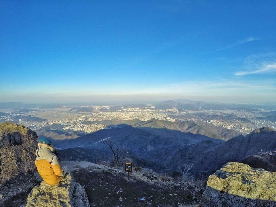 Mount Geumosan, the greatest hike in the heart of Korea Hyeonwalbong Summit