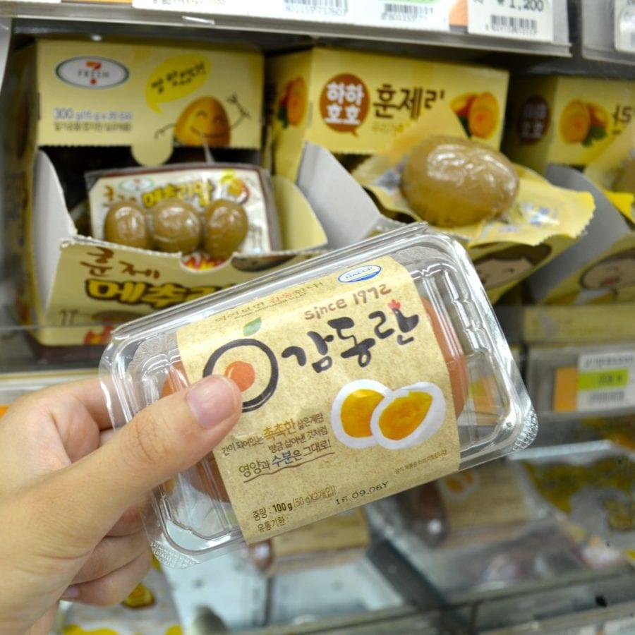 Korean Convenience Stores baked eggs