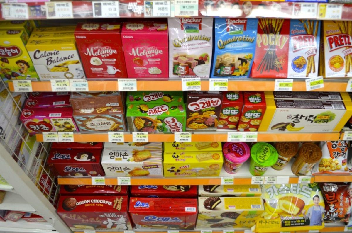 korean convenience stores candy
