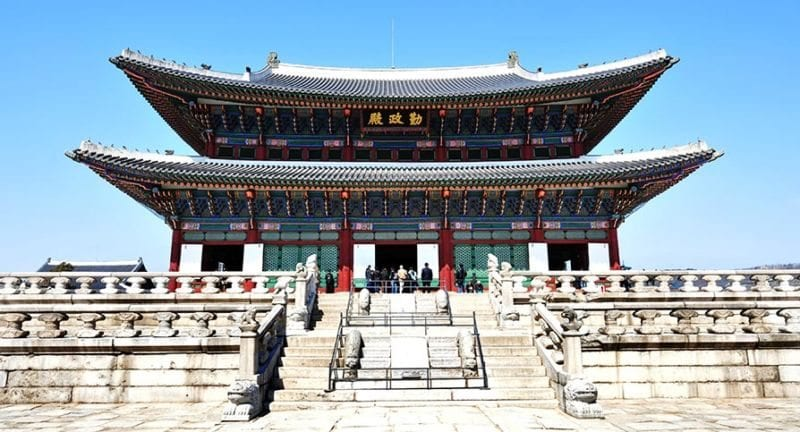 gyeongbokgung-palace 24 hours in seoul