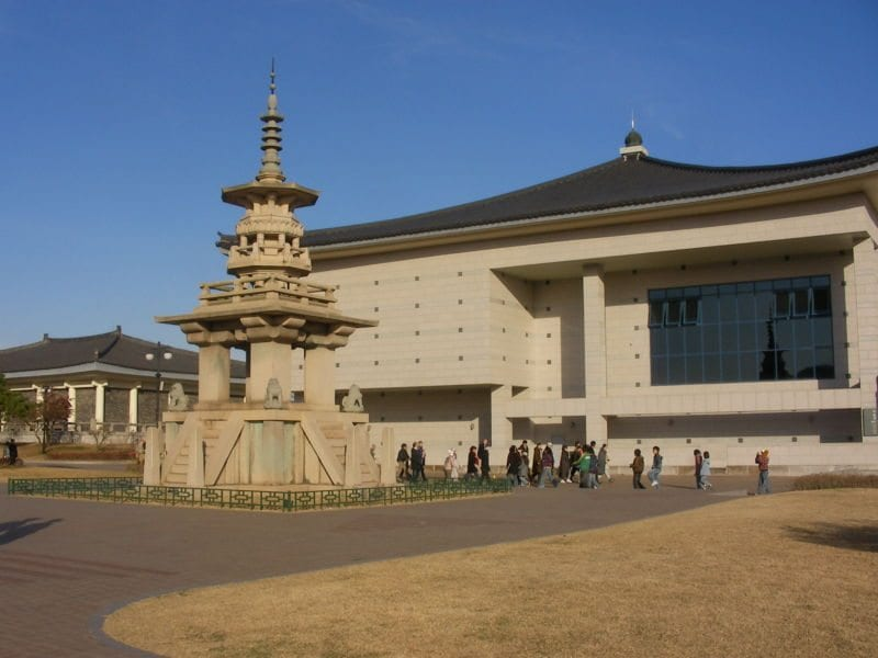 places to see in gyeongju national museum