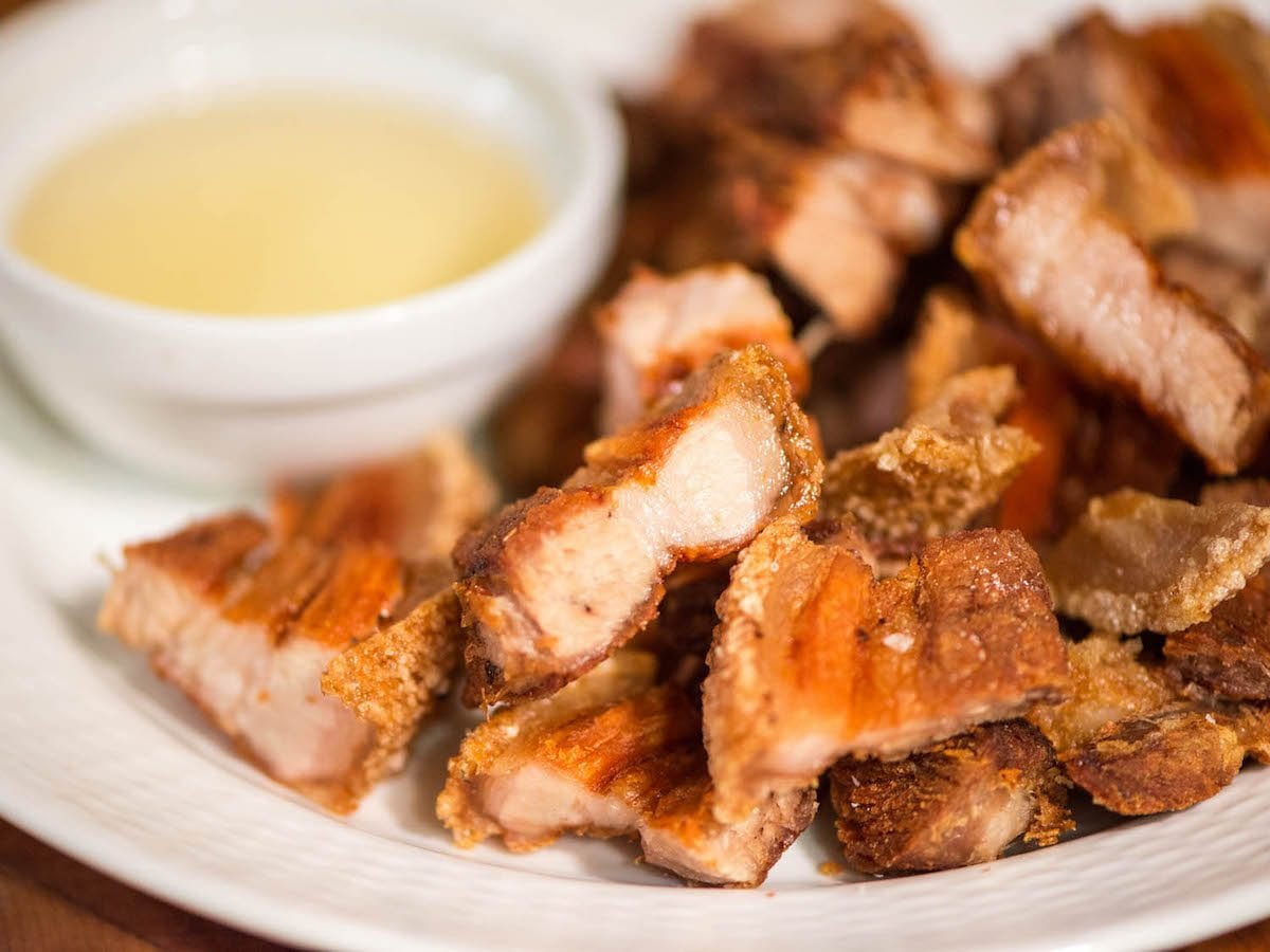 Filipino Food in Seoul20150102-lechon-kawali-final-plate-joshua-bousel SeriousEats