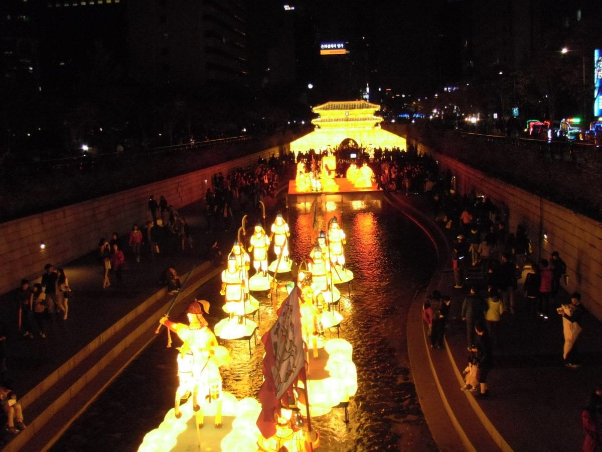 Seoul Lantern Festival - korean international festivals
