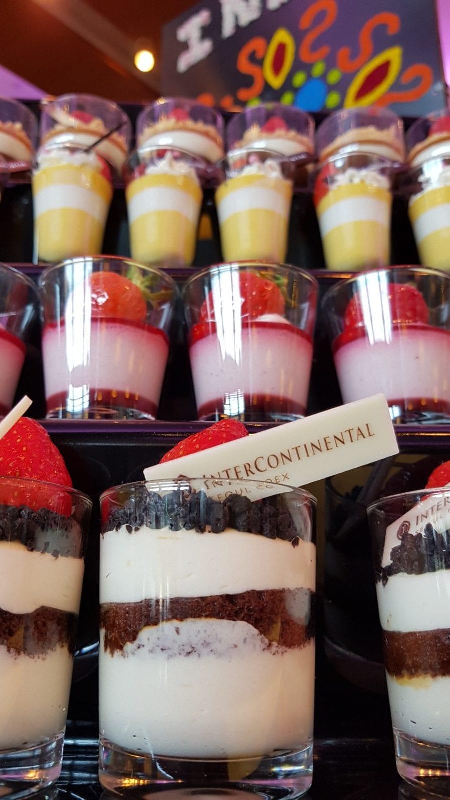 Strawberry Intercontinental COEX Seoul