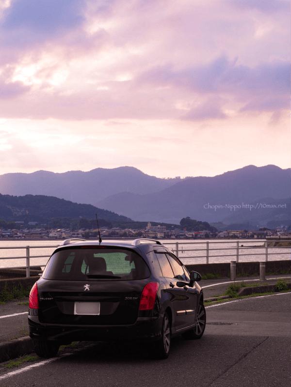 プジョー, Peugeot, 308SW, 浜名湖,