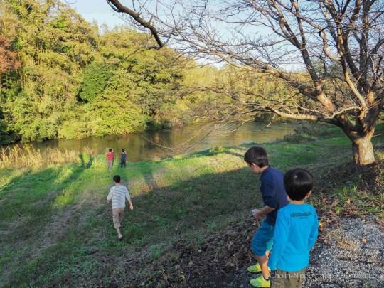 かずさオートキャンプ場 川