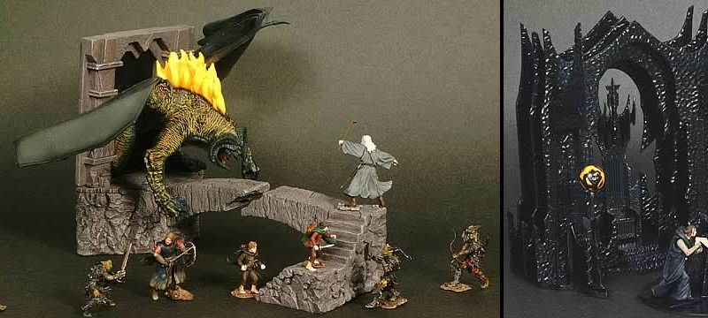 Play Along Toys Lord of the Rings Armies of Middle Earth Figures