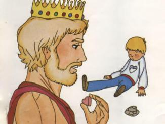 The King replaces Cranston Thorndike's Stone Heart
