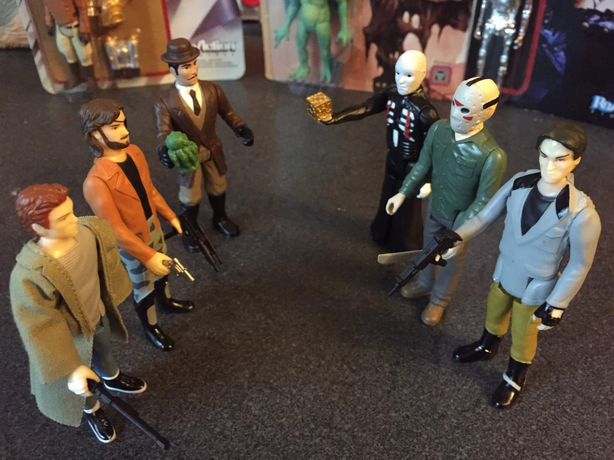 New Vintage Action Figures