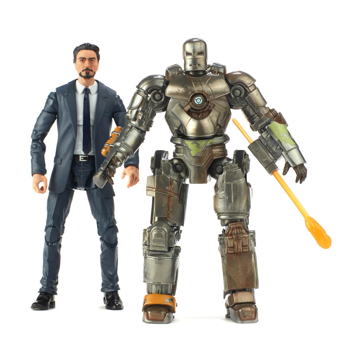 Hasbro 2018 MCU Tony Stark and Iron Man Mark 1 2 pack