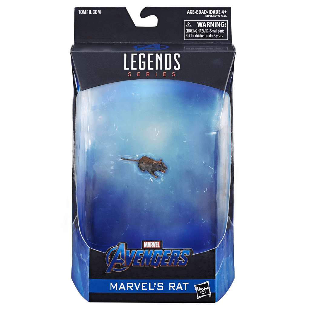 Hasbro Marvel Legends Endgame Rat Action Figure Joke