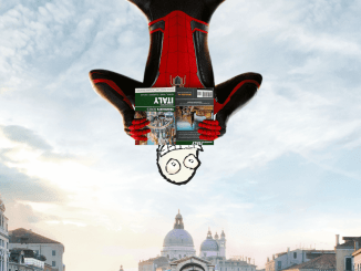 What was that at the end of Spider-Man Far From Home?
