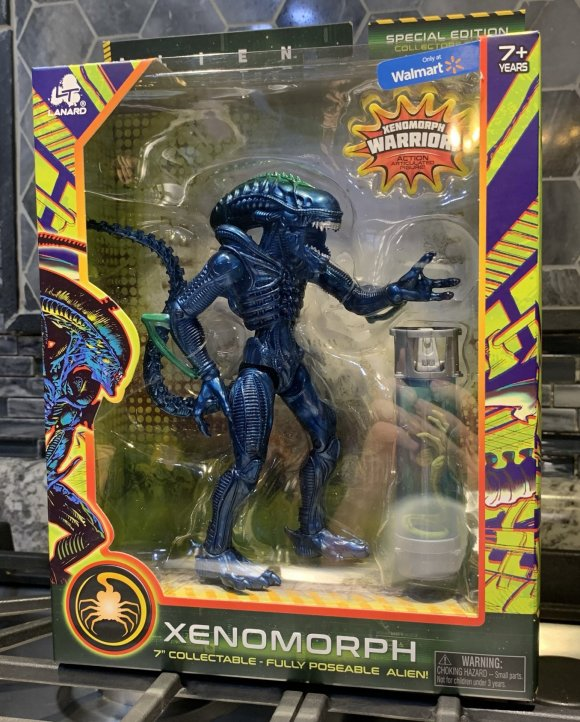 Lanard Toys Alien Warrior Xeno Packaging front