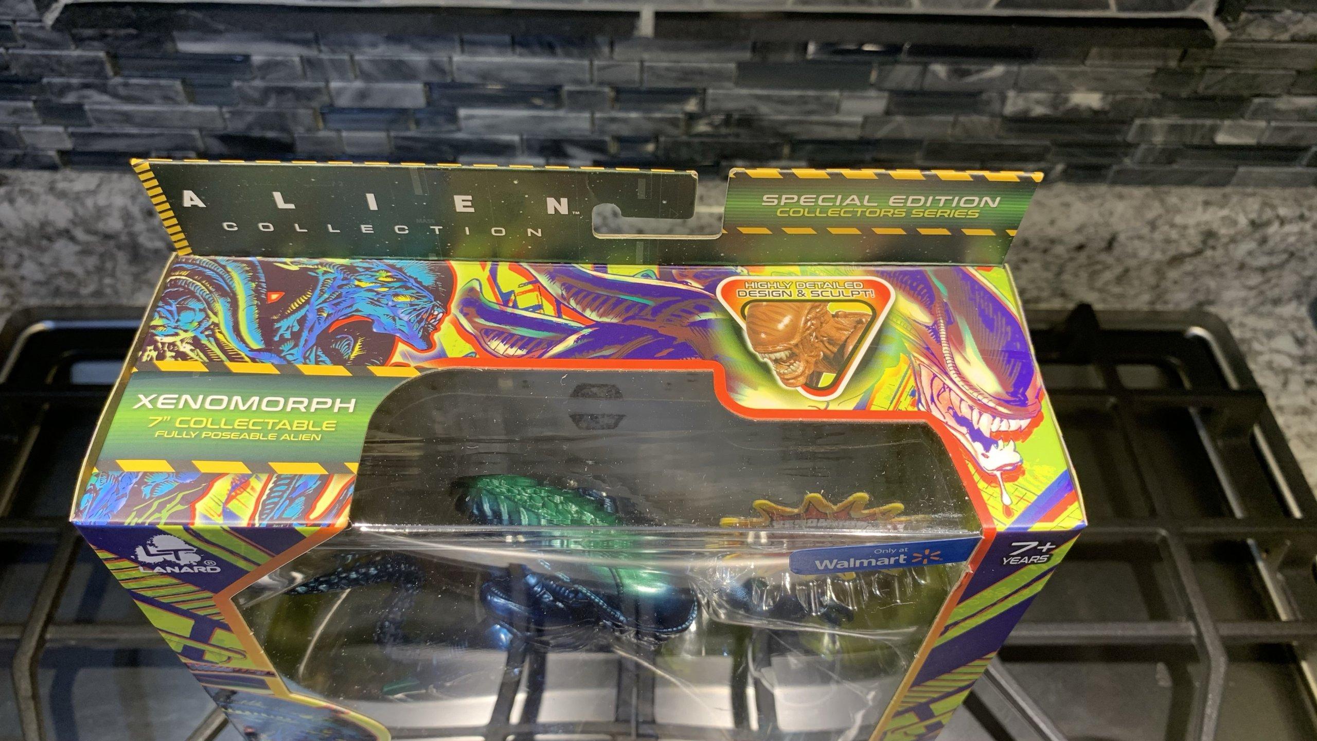 Lanard Toys Alien Warrior Xeno Packaging top