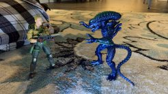 Lanard Toys Alien Warrior Xeno and Hasbro G.I. Joe Classified Duke