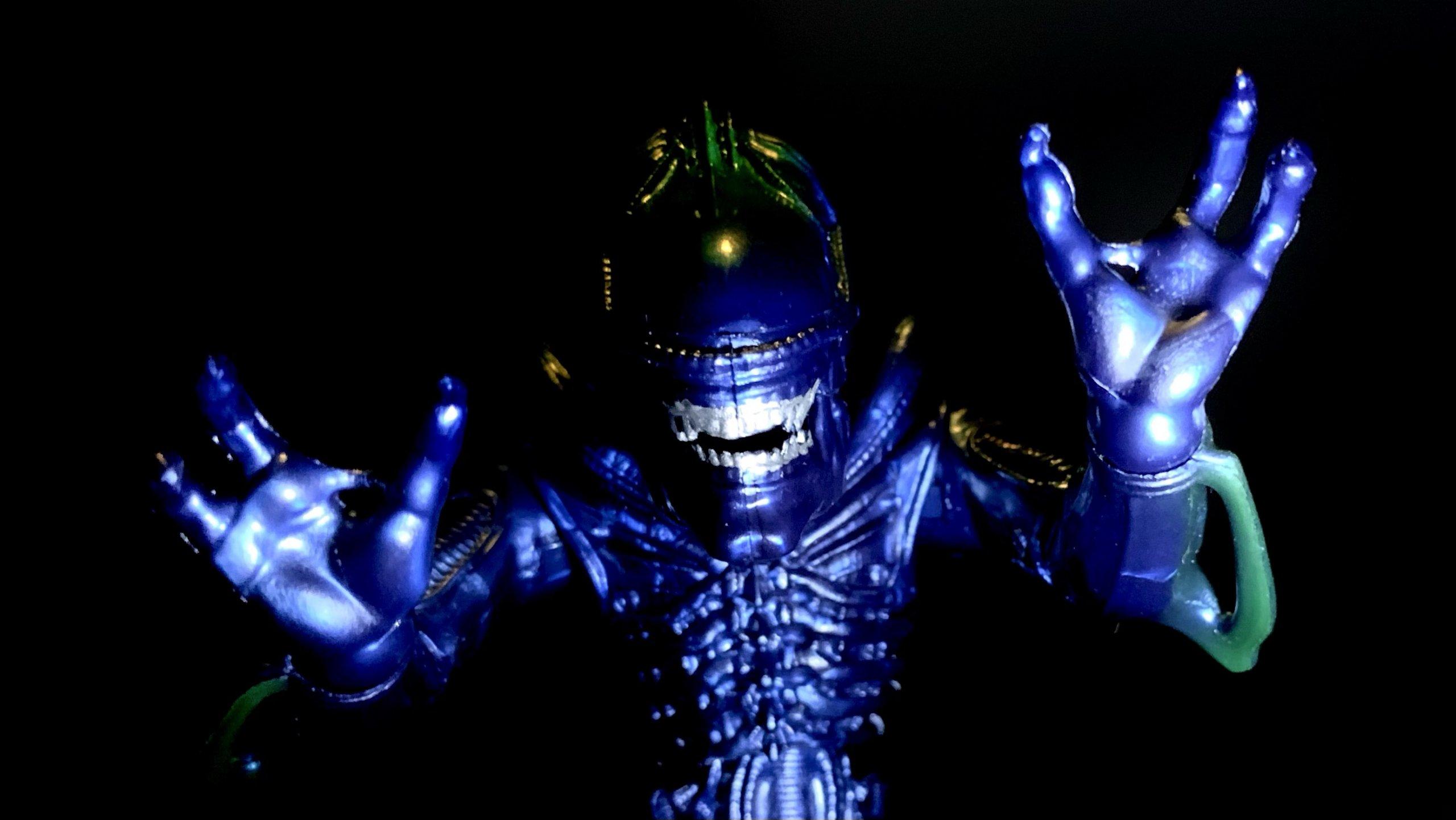 Lanard Toys Alien Warrior Xeno 7 inch movie recreation