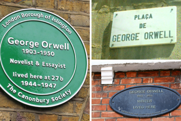 George Orwell lived here