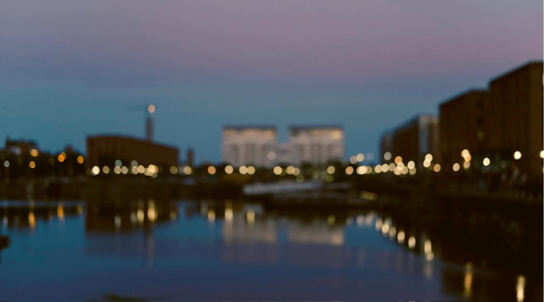 Liverpool Docks - the Old Dock