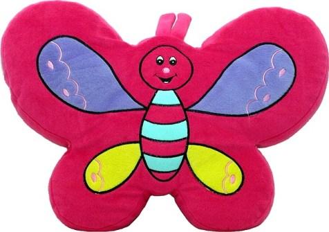 Butterfly Craze Daisy Flower Plush Floor Pillow