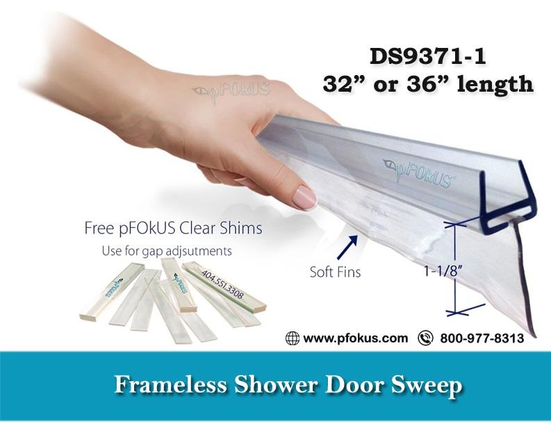 Shower Door Sweeps from pFOkUS