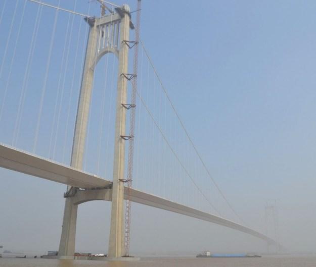 Nanjing Fourth Yangtze Bridge, China