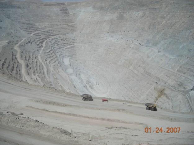 Chuquicamata (Chuqui), Chile (source: wiki)